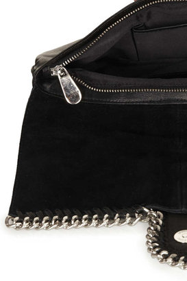 Topshop Quilted Chain Clutch