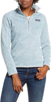 Patagonia Better Sweater Quarter Zip Performance Jacket