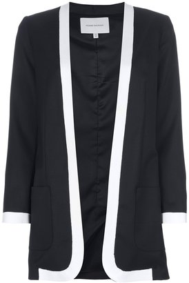 Balmain Pierre bi-colour jacket