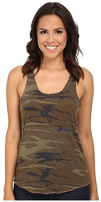 Alternative Printed Meegs Racer Tank (Camo) Women's Sleeveless