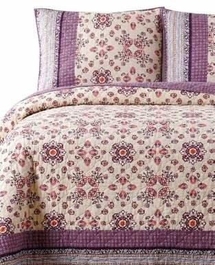 Jessica Simpson Lola 140 Thread Count Cotton Quilt Set