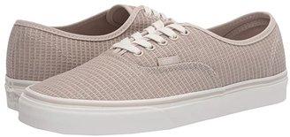 Vans Authentictm ((Checkerboard) Black/True White) Skate Shoes