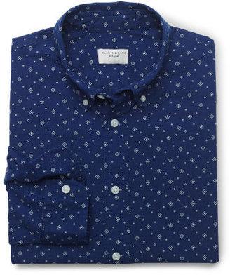 Club Monaco Slim-Fit Printed Shirt