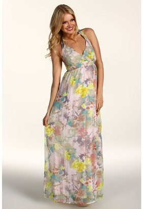 D.E.P.T Dreamy Flower Maxi Dress (Celedon Green) - Apparel