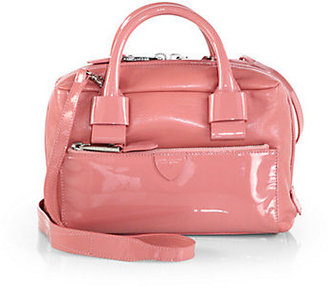 Marc Jacobs Box Patent Leather Satchel