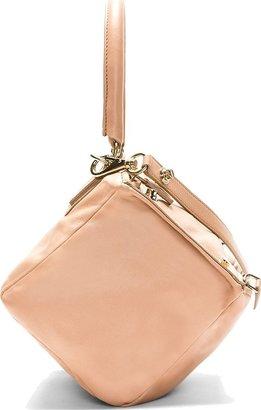Givenchy Rose Calfskin Pandora Small Shoulder Bag
