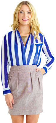 Langford Market Stylishly Striped Top