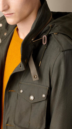 Burberry Technical Canvas Field Jacket