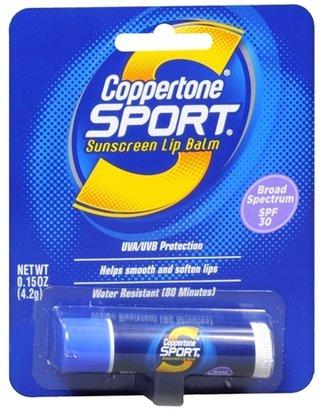Coppertone Sport Lip Balm, SPF 30