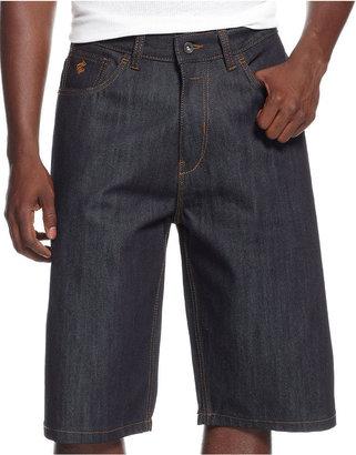 Rocawear Flame Stitch Jean Shorts