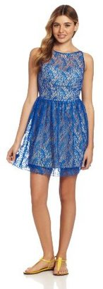 Ruby Rox Juniors Lace Party Dress