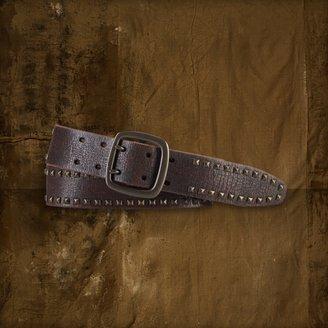 Denim & Supply Ralph Lauren Pyramid-Studded Belt