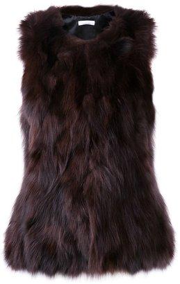 Jean Paul Gaultier Knott fox fur vest