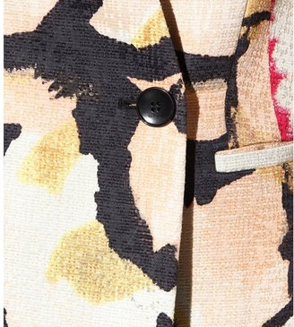 Etro Printed cotton-blend coat
