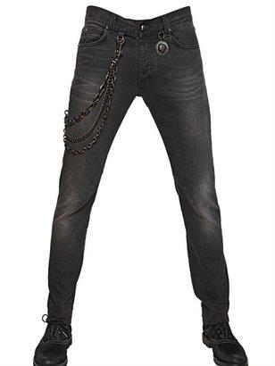Karl Lagerfeld Paris - 17cm Stretch Stone Washed Skinny Jeans