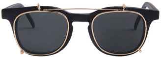 American Apparel Vintage Removable Clip Sunglasses