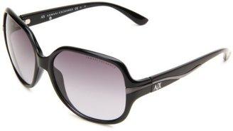 Armani Exchange Women's AX242/S Rectangle Sunglasses