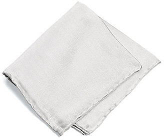 Saks Fifth Avenue Collection Solid Silk Pocket Square