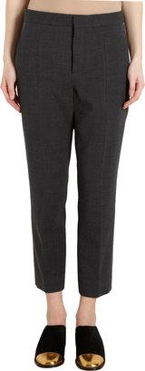 Marni Cropped Gabardine Trousers