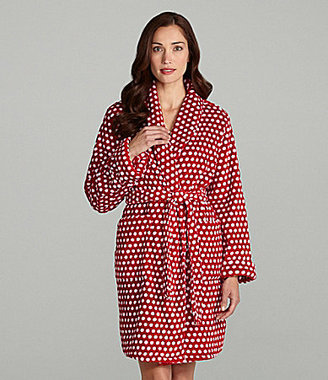 Sleep Sense Red and White Dot Robe