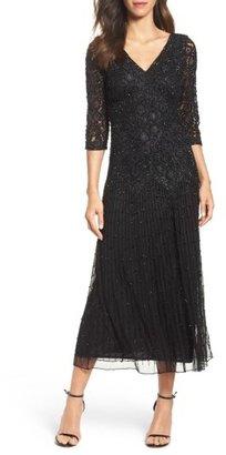 Women's Pisarro Nights Beaded Mesh Dress $189 thestylecure.com