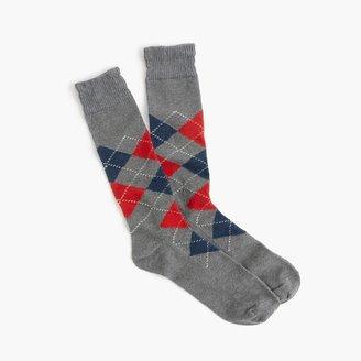 J.Crew Argyle socks