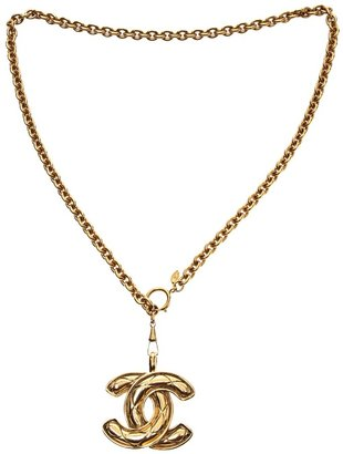 Chanel qulited necklace