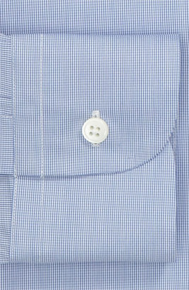 Z Zegna Drop 8 Fit Dress Shirt Bright Blue 41 EU