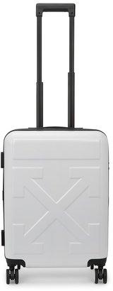 Off-White Arrow Small White Suitcase