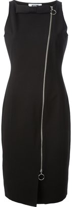 Moschino Cheap & Chic bow zip dress