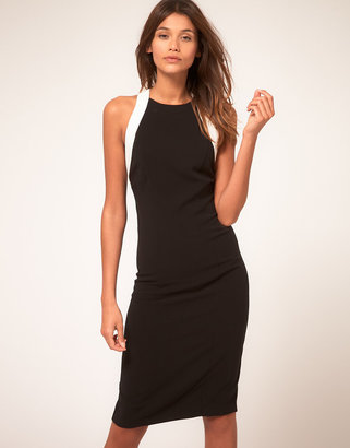 Asos Pencil Dress with Cut Out