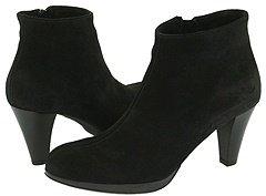 La Canadienne Megan (Black Suede) - Footwear