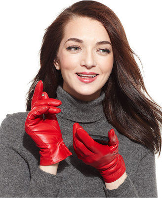 Charter Club Touch Point Leather Gloves