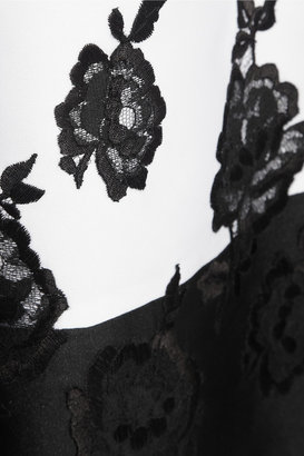 Erdem Green Carpet Challenge: Macey embroidered duchesse-satin dress
