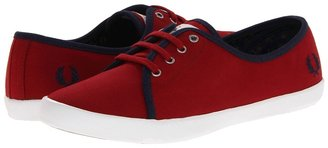 Fred Perry Bell Canvas (Rosso/Carbon Blue) - Footwear
