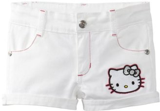 Hello Kitty Girl's Shorts With Embroi...