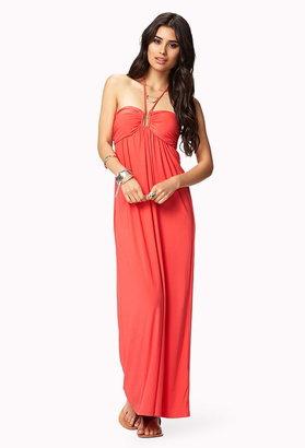 Forever 21 Halter Maxi Dress