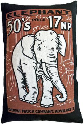 Koko Match Co Elephant Print Pillow