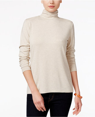 Style & Co. Mock-Turtleneck Top, Only at Macy's $34.50 thestylecure.com