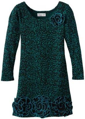 Bonnie Jean Girls 7-16 Printed Sweater Dress