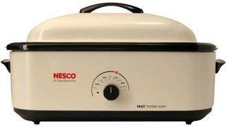 Nesco 18-qt. Porcelain Cookwell Electric Roaster, Ivory