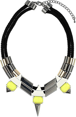 Topshop Cord and Spike Tube Collar