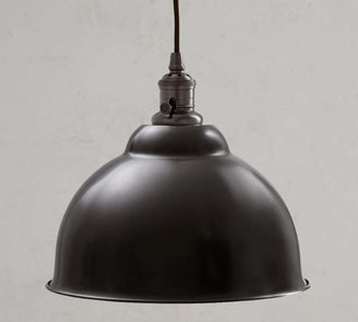 Pottery Barn PB Classic Cord Pendant - Metal Bell
