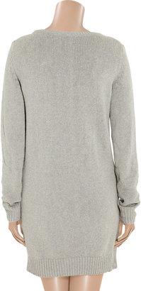 Alexander Wang Silk-blend sweater dress