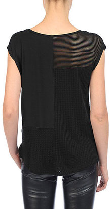 AG Jeans The Patchwork Tee - Black