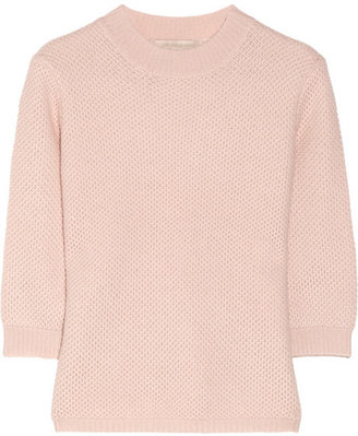 Vanessa Bruno Waffle-knit wool and cashmere-blend sweater