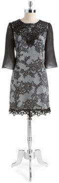 Jax STUDIO Lace Shift Dress