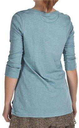True Grit Slub Knit T-Shirt - Crew Neck, 3/4 Sleeve (For Women)
