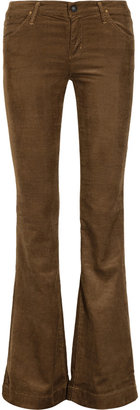 Gold Sign Elan mid-rise flared corduroy jeans