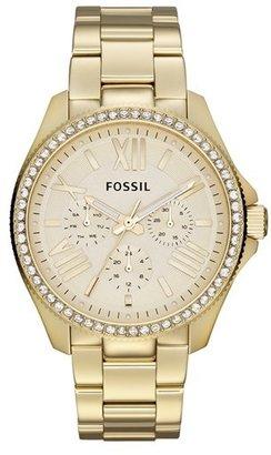 Fossil 'Cecile' Multifunction Bracelet Watch, 40mm